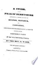 The Matlock  Buxton and Castleton guide