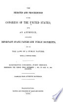 Annals of the Congress of the United States