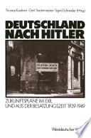 Deutschland nach Hitler