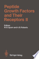 Peptide Growth Factors And Their Receptors Ii book