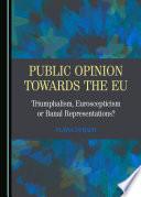 Public Opinion towards the EU