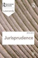 Jurisprudence Lawcards 2012 2013