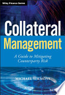 Collateral Management : banking in the wake of recent...
