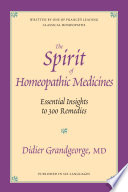 The Spirit of Homeopathic Medicines