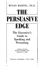 Ebook The Persuasive Edge Epub Myles Martel Apps Read Mobile