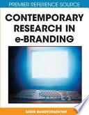 Contemporary Research In E Branding book