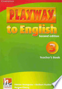 Playway to English Level 3 Teacher s Book