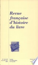 Catalogues r  gionaux des incunables des biblioth  ques publiques de France