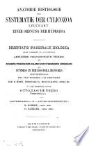 Anatomie, histiologie und systematik der Cylicozoa Leuckart, einer ordnung der Hydrozoa ...