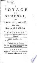 A Voyage to Senegal