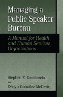 Managing A Public Speaker Bureau