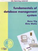 Fundamentals of Database Management System