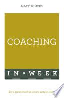 Coaching In A Week