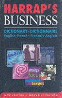 illustration du livre Harrap's Business