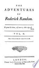 The adventures of Roderick Random [by T.G. Smollett].