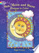 Sun  Moon and Stars Designs to Color
