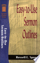 Easy To Use Sermon Outlines Sermon Outline Series