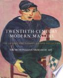 Twentieth Century Modern Masters