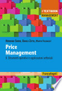 Price management  II  Strumenti operativi e applicazioni settoriali