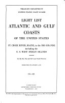 Atlantic and Gulf Coasts of the United States