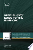 Official  ISC 2   Guide to the ISSMP   CBK