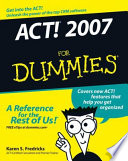 ACT  2007 For Dummies