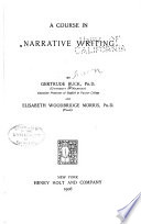 A Course in Narrative Writing