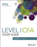 Wiley Study Guide for 2016 Level I CFA Exam  Economics