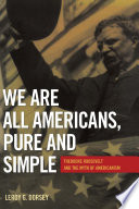 We Are All Americans  Pure and Simple