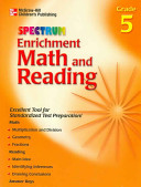 Spectrum Enrichment Math and Reading  Grade 5