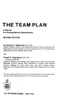 The team plan  a manual for nursing service administrators