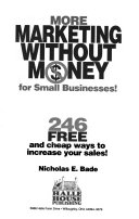 More marketing without money for small businesses