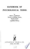 Handbook of Psychological Terms