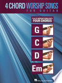 4 Chord Worship Songs for Guitar  Songbook