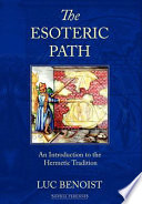 Ebook The Esoteric Path Epub Luc Benoist,Robin Waterfield Apps Read Mobile