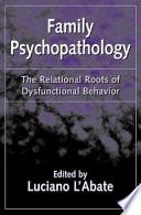 Family Psychopathology book