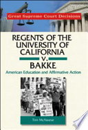 Regents of the University of California V  Bakke