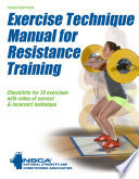 Exercise Technique Manual for Resistance Training 3rd Edition