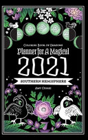 Coloring Book Of Shadows Southern Hemisphere Planner For A Magical 2021