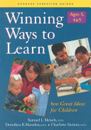 Winning Ways to Learn  Ages 3 4 5