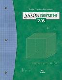 Saxon Math 7 6 Facts Practice Work Book