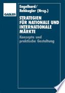 Strategien für nationale und internationale Märkte