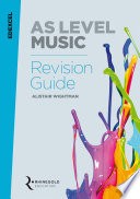 Edexcel AS Level Music Revision Guide  2016 2017