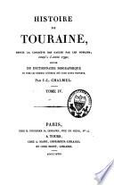 Histoire de Touraine jusqu    l ann  e 1790
