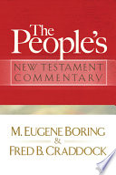The People S New Testament Commentary