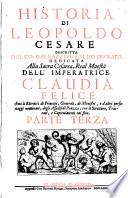Historia di Leopoldo Cesare