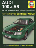 Audi 100 And A6 Owner S Workshop Manual
