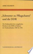 """""""Schwerter zu Pflugscharen"""" und die DDR"""