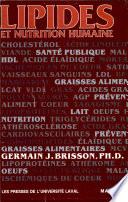 Lipides et nutrition humaine
