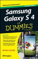 Samsung Galaxy S 4 for Dummies  Portable Edition